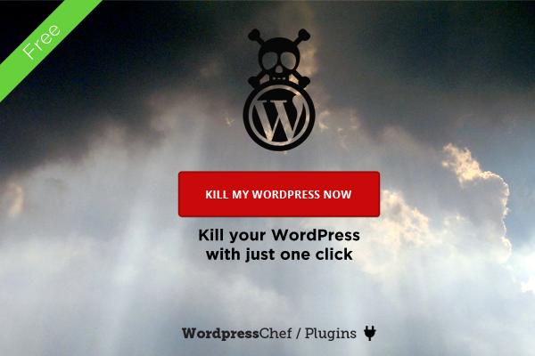 Kill my Wordpress plugin - preview